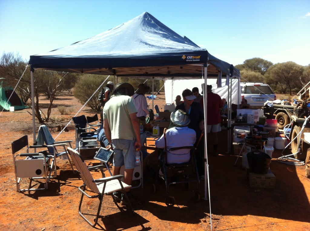 Luxury in the outback