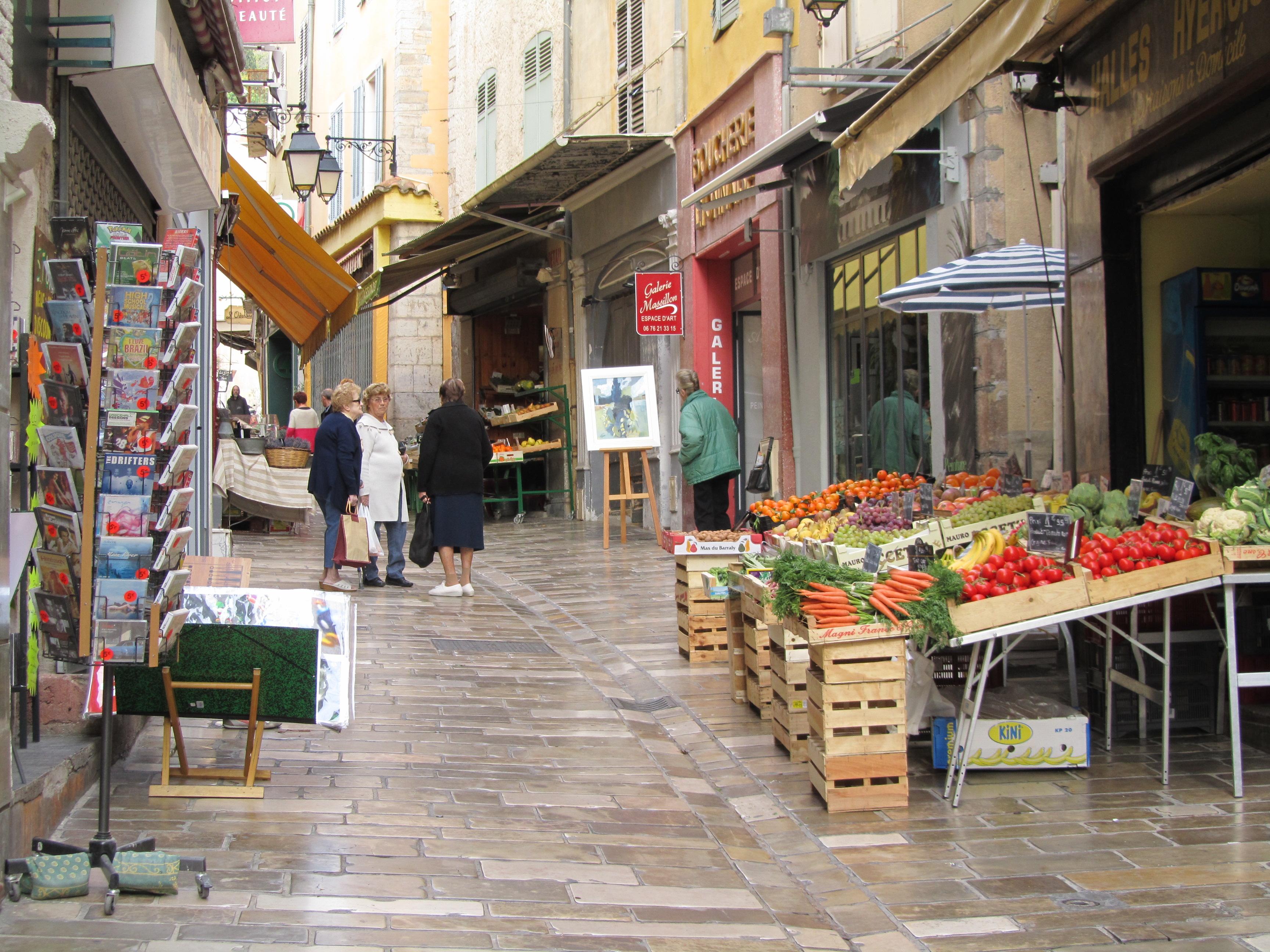 Hyeres old city