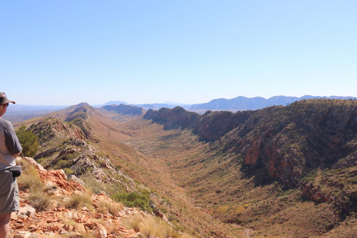 Hiking the Larapinta